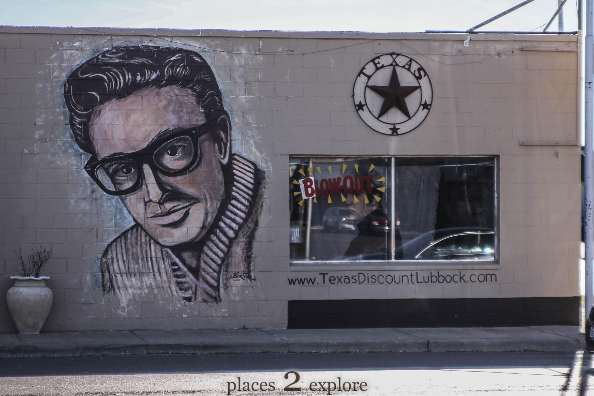 Buddy Holly Mural
