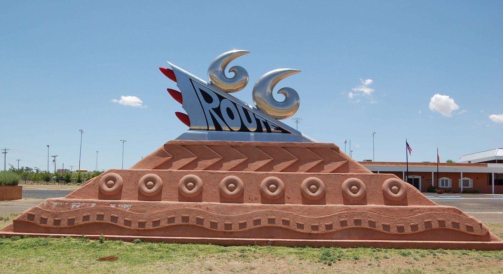 Route 66 Monument
