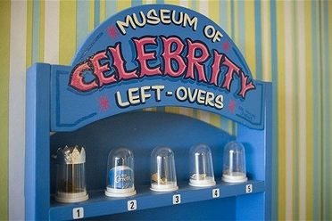 The Museum of Celebrity Leftovers