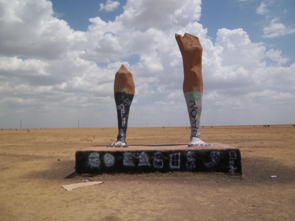 The Ozymandias Legs