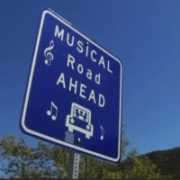 Route 66 Musical Road