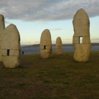 Manolo Paz's Menhirs