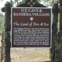 Ice Cave and Bandera Volcano