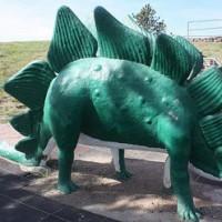 Depression Era Dinosaur Park
