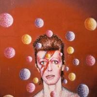 David Bowie Graffiti Mural