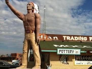 Indian Muffler Man