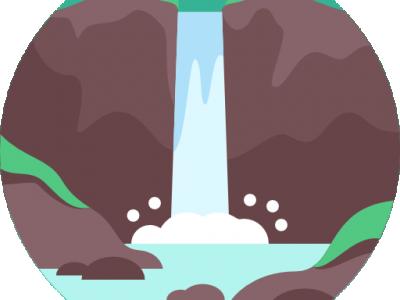 Eikjeskogfossen
