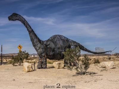 Wire Mesh Dinosaur