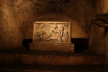 The Mithraeum at Circus Maximus