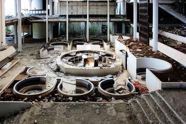Abandoned Haludovo Palace Hotel