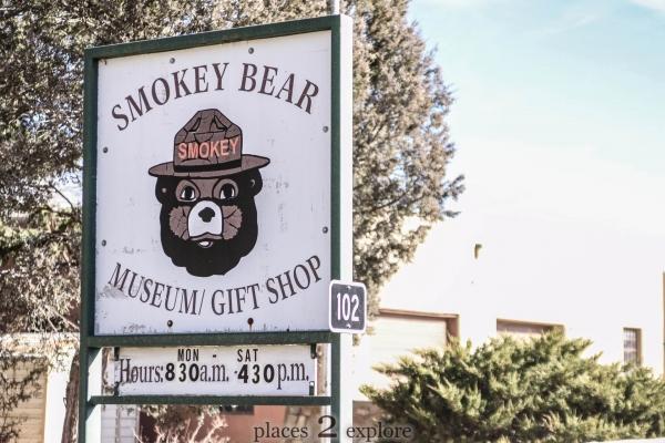 Smokey Bear Museum And Grave