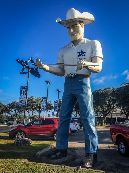 Muffler Man - Cowboy
