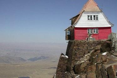 Abandoned Chacaltaya Ski Resort