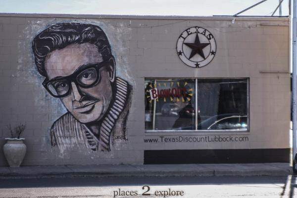 Buddy Holly Mural