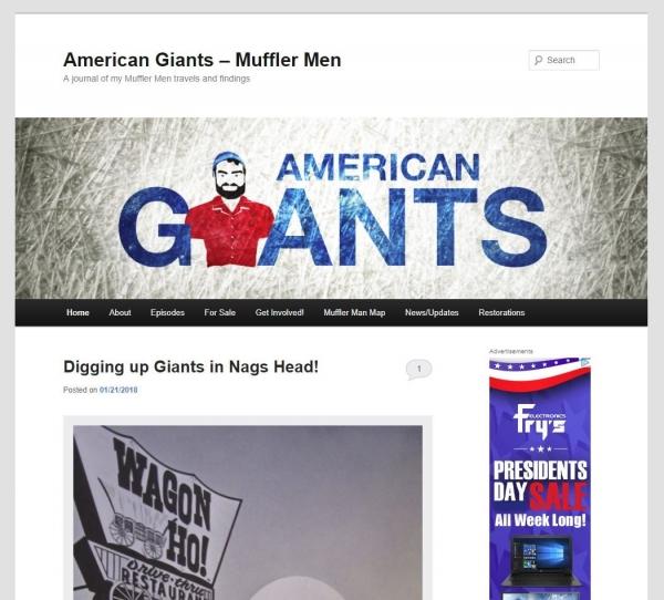 American Giants – Muffler Men