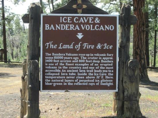 Ice Cave and Bandera Volcano