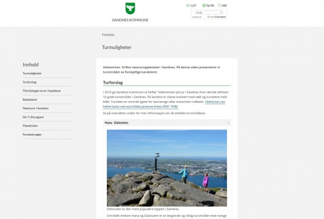Sandnes Nature Hikes
