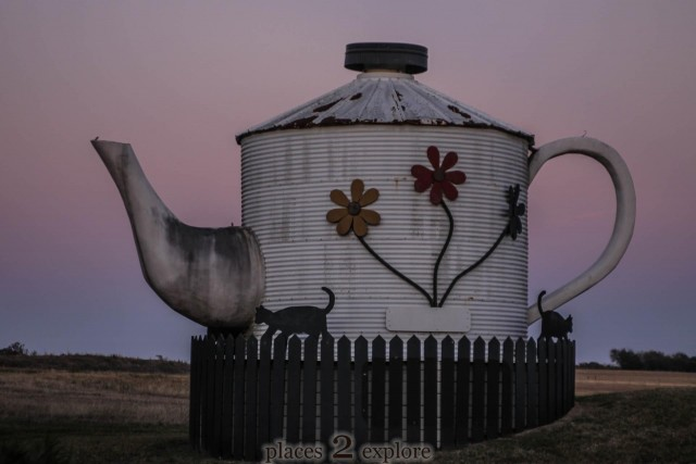 Worlds largest teapot