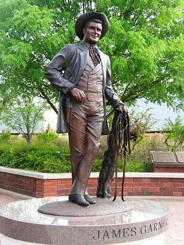 James Garner Statue