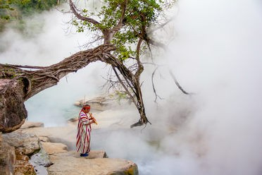 The Boiling River of the Amazon