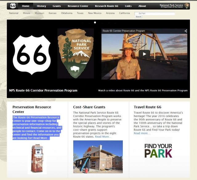 Route 66 Preservation Resource Center