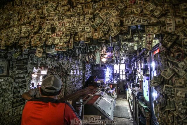 Oatman Hotel and Dollar Bill Bar