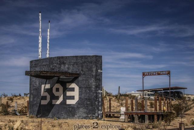 Submarine in Terlinguas